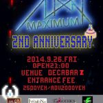 MAXIMUM 2nd ANNIVERSARY feat. DJ MAX BIRTHDAY BASH